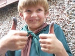 Thumbs Up from one of Ned's team